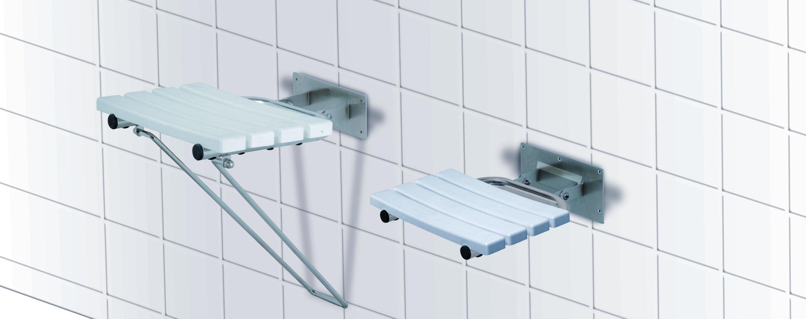 Sprchové sedátko závěsné sklopné