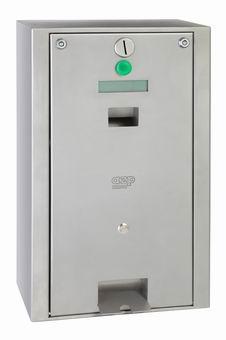 Mincovní automat pro otevírání dveří
