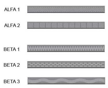 STANDARD DESIGNS OF GRATING