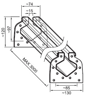 Схема каналов и стыков