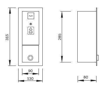 Schéma - ZAP 1 žetonový automat pro automatickou pračku