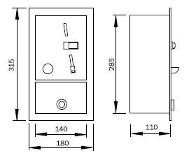 Coin automat scheme